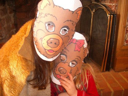 BFIAR-Jesse Bear-printable masks