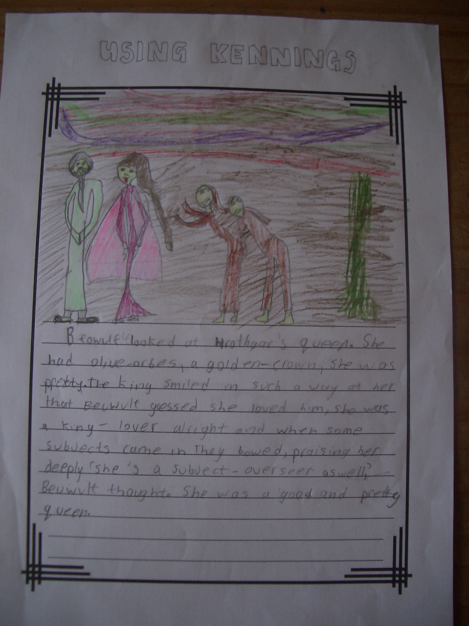beowulf formal essay