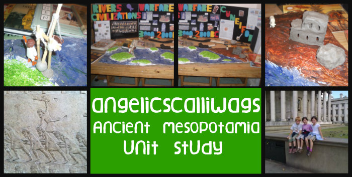mesopotamia, unit study, hands on activities, 2