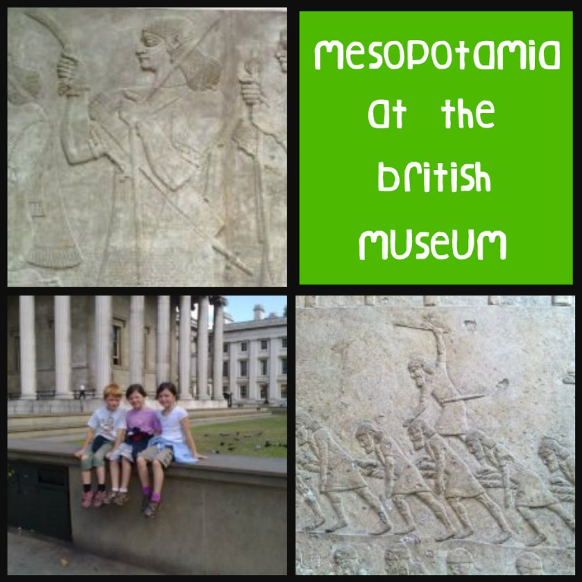 Mesopotamia, British museum, field trips