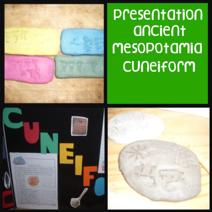 Mesopotamia, cuneiform