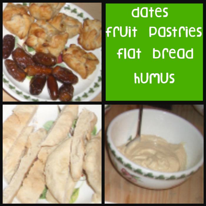 Mesopotamia, mesopotamia food, humus, flat bread, dates