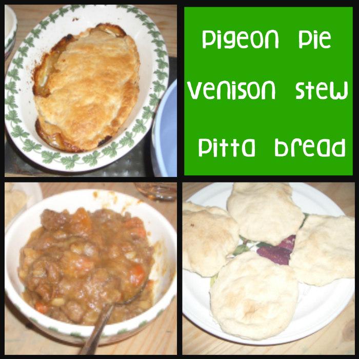 Mesopotamia, mesopotamia food, pigeon pie, venison stew, pitta bread