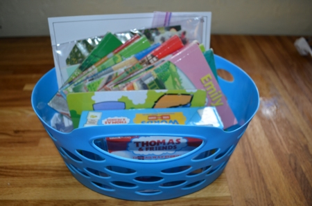 Her quiet time basket