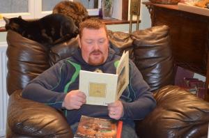 ....whilst Daddy read the velvetine rabbit.