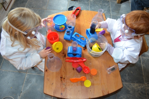And made lots and lots of lovely, wet mess!!