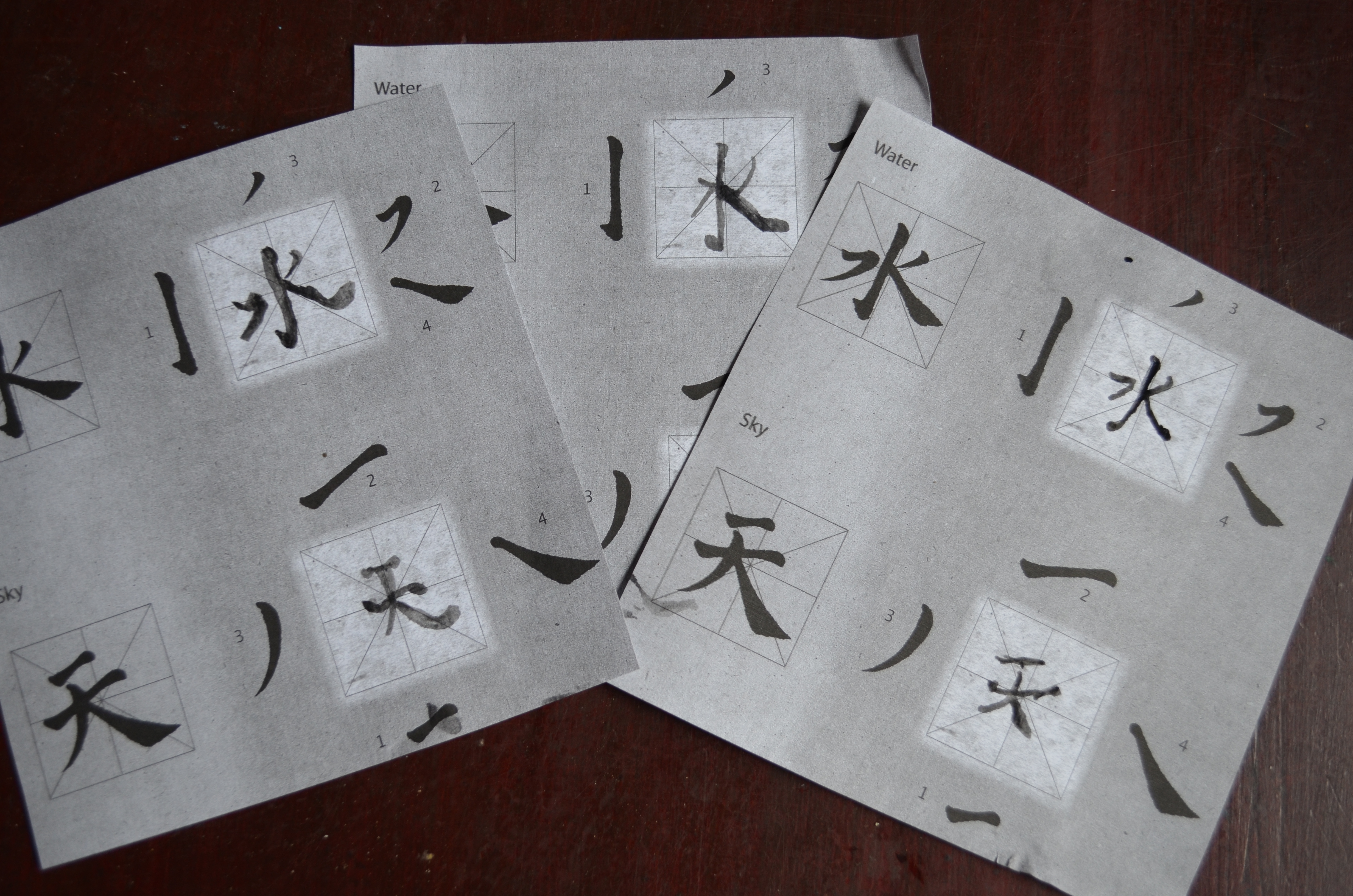 Ancient china shang dynasty and writing systems Calligraphy ancient china