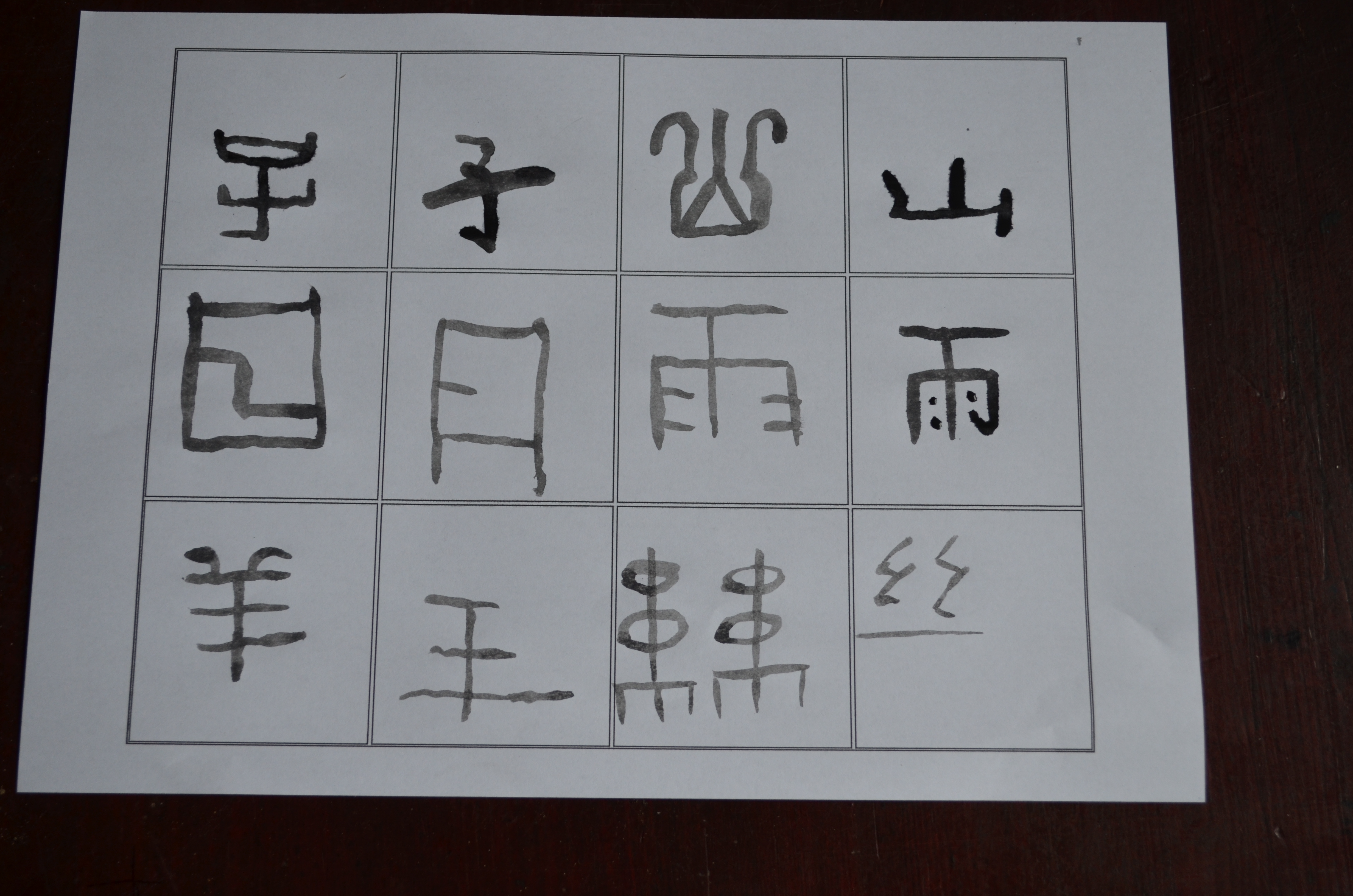 How the Chinese writing system works
