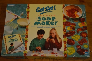 Soap making kit £1 at a charity shop, never been used!
