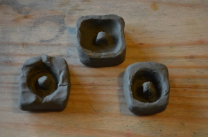 Our three coin molds
