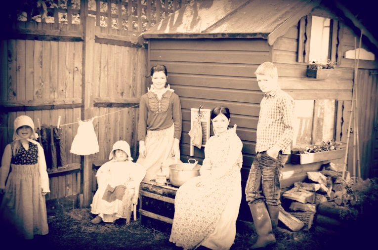 aaa little house on the prairie old fashioned photo