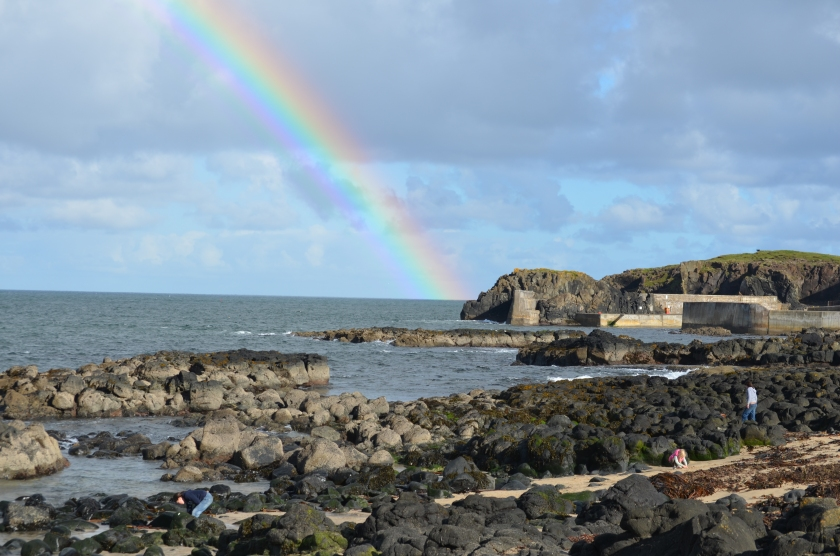 The treasure at the end of the rainbow?  Northern Ireland, of course!