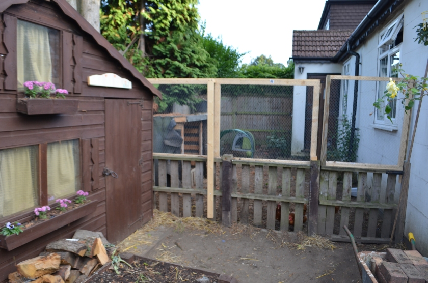 It is situated right next door to our Little House, which is kind of cool for the children.  The little house chooks!
