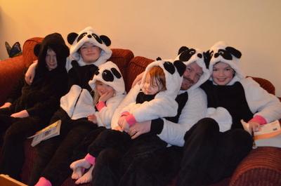 Can you spot a Daddy panda