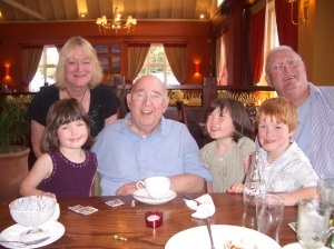 With granddad just before he died
