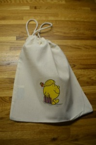 A completed bag