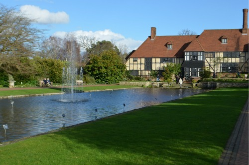 ....and fountains, set alongside old manor houses