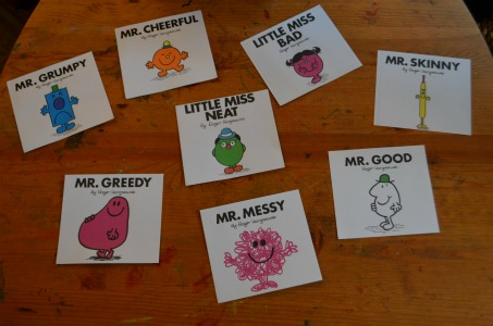 Handily, there are many characters which can be used to demonstrate opposites in a very simple way to little ones.