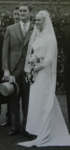 My Dad and Mum on their wedding day