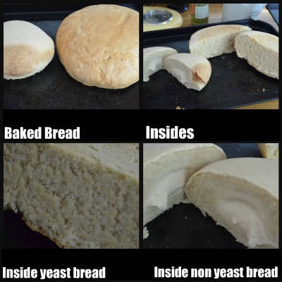 Ribbet collage yeast bread 2