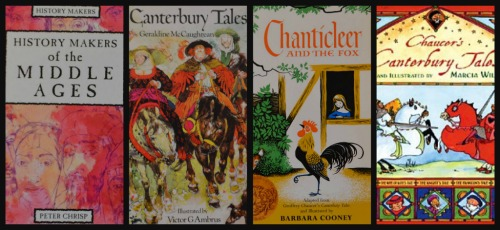 Ribbet collagechaucer books