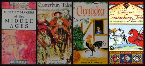 Ribbet collagechaucer books