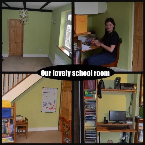 Ribbet collageschool room