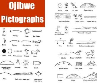 ojibwe pictographs