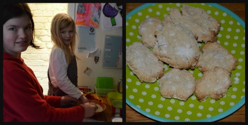 C12 and A6 made the hard tack biscuits together
