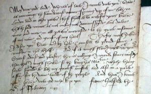 Elizabethan Letter-from-Princess-Elizabeth