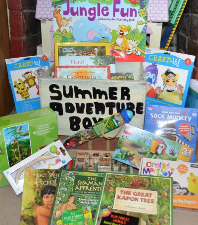 jungle fun summer adventure box