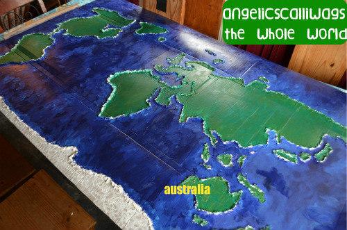 australia, map, unit, study, hand on activities
