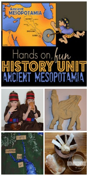 Mesopotamia-history-unit-kids