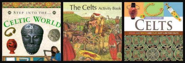 ancient celts-unit study-activity books