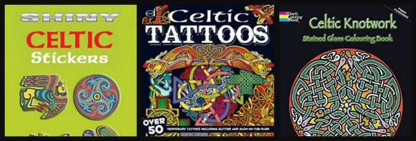 ancient celts-unit study-stickers-tattoos-knotwork
