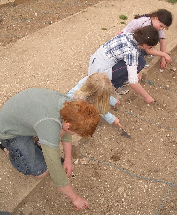 Butser Farm-celts-homeschool-field trip-archeological dig