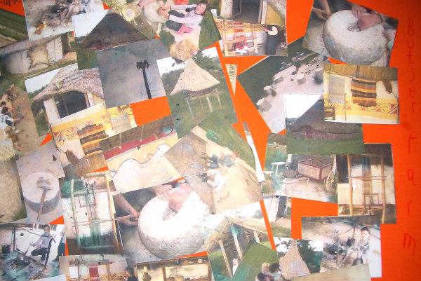 Butser Farm-celts-homeschool-field trip-collage of memories