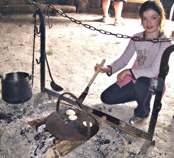Butser Farm-celts-homeschool-field trip-fireside