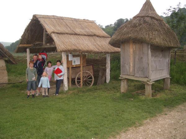Butser Farm-homeschool-field trip-entrance