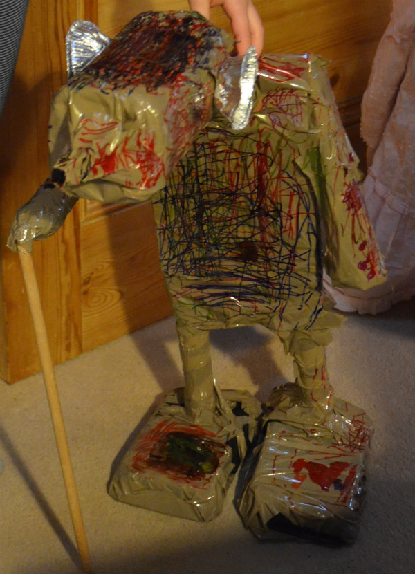 Dinosaurs-junk model-13