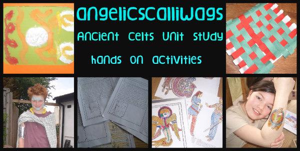 Ancient Celts-Unit Study-hands on activities 2
