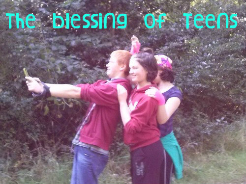 Blessing of teens