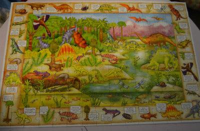 unit study-dinosaurs-dino puzzle