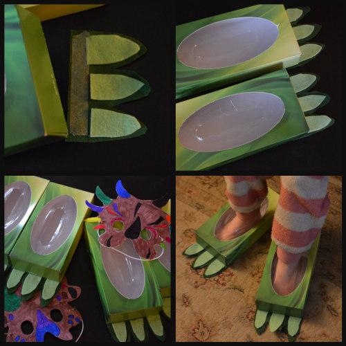 Unit Study-Dinosaurs-Dress Up-Feet