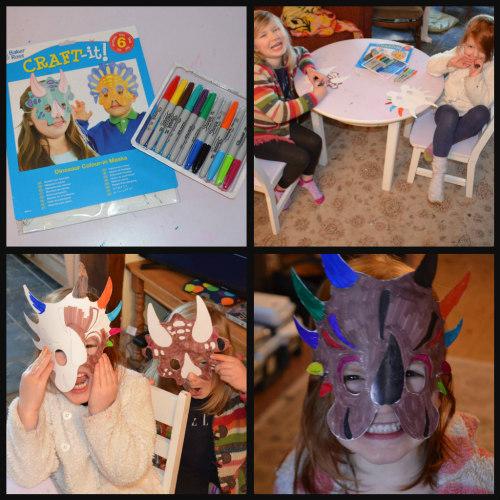 Unit Study-Dinosaurs-hands on-mask