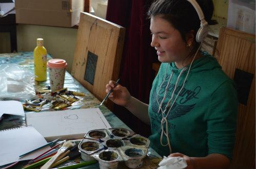 Art Study-Cezanne-Blue Vase-2