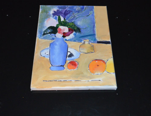 Artist Study-Cezanne-Blue Vase-4