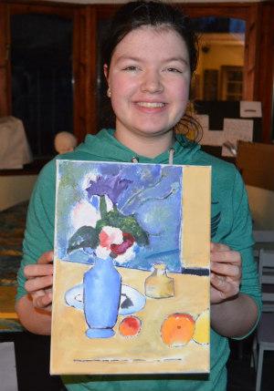 Artist Study-Cezanne-Blue Vase