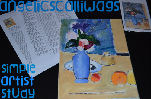 Paul Cezanne Artist Study - Teach Beside Me