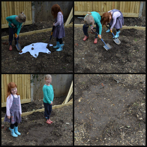 dinosaur unit study-triceratops-foot prints-6